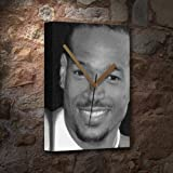 MARLON WAYANS - Canvas Clock (LARGE A3 - Signed by the Artist) #js001