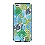 Vera Bradley Flexible Frame Case for iPhone 6/6s - Caribbean Sea Multi Blue/Clear