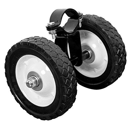 (Lazy Daze Hammocks Stand Wheels Heavy Duty Wheel Kit for 9 to 15 Feet Steel Stands, Black)