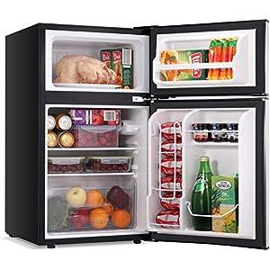 LEONARD USA 115 L Inverter Double Door Mini Refrigerator / Small Fridge with Separate Deep Freezer Compartment…