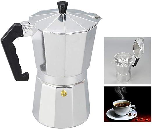 Cafetera espresso con estufa Cafetera con percolador Moka ...