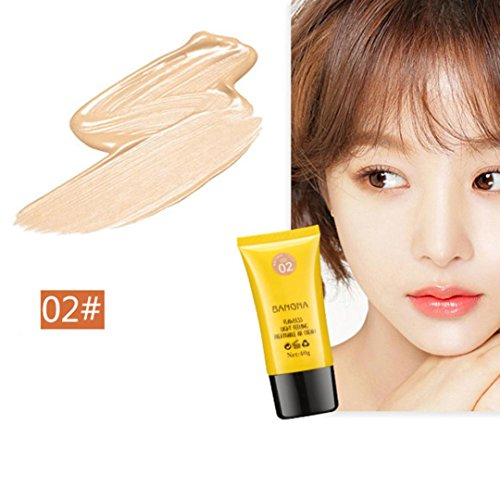 Hunputa Korean Naturals Perfecting BB Beauty Balm Natural Tint,Ultra-Nourishing BB Cream,Perfect Cover Foundation Cream (B)