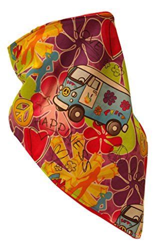 Fierce Face Protection Fleece Lined Bandana VW made in Connecticut