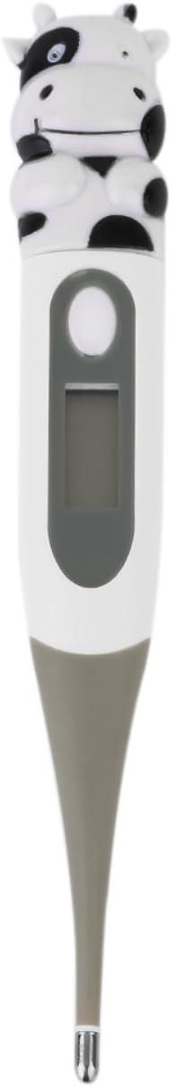 Biyi niedlichen Cartoon Tiere diagnose-Tool Frosch//b/är//Kuh digital Monitor Thermometer Oxter /& Mund f/ür Baby Kinder gr/ün