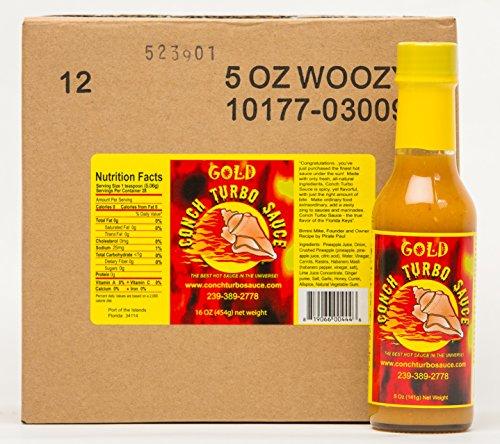 Conch Turbo Gold - Case of 5 oz.