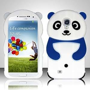 Blue Flex Panda Bear Cover Case for Samsung Galaxy S4 S IV SIV O98I