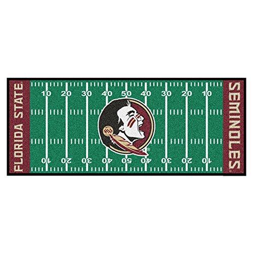 NCAA Florida State University Seminoles Football Field Runner Mat Area - Runner Florida Central