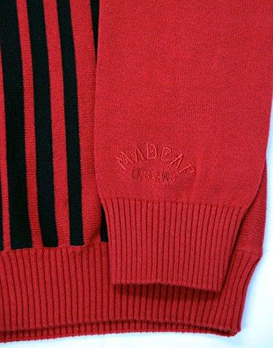 Madcap England Herren Strickjacke rot rot / schwarz