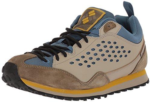 Columbia Men's D7 Retro Sneaker, Steel, Antique Moss, 11.5 Regular US