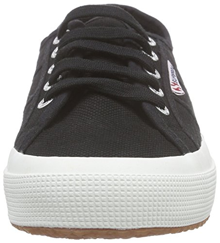 Baskets Classic Noir Adulte f83 Basses Superga cotu 2750 Black Mixte xqwSn0tY