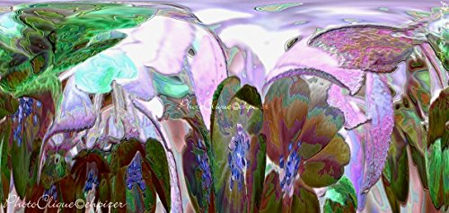 Luminescence (#1) / Abstract Surreal Floral Wall Art / Digital Art - Fine Art Photography Print by PhotoClique