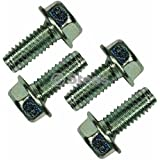 Power Mower Sales 4 Pack Hex Head Screw for Spindle/MTD 710-1260A/Cub Cadet 710-1260A/Troy Bilt 710-1260A