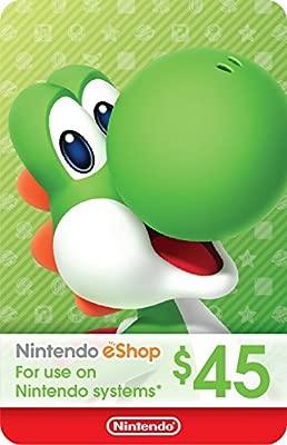 Amazon.com: $45 Nintendo eShop Gift Card [Digital Code ...