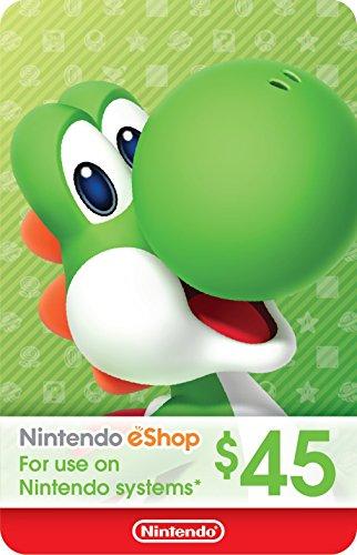 eCash - Nintendo eShop Gift Card $45 - Switch / Wii U / 3DS [Digital Code] by Nintendo