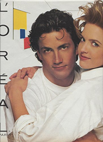 magazine-ad-for-loreal-cosmetics-1993-melrose-place-andrew-shue-courtney-cox