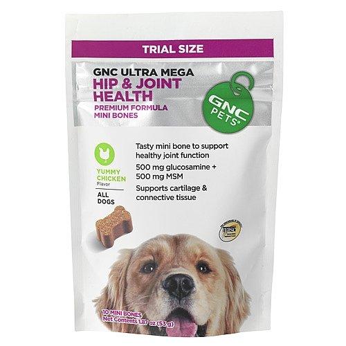 GNC Pets Ultra Mega Hip and Joint Health 60 Mini Bones