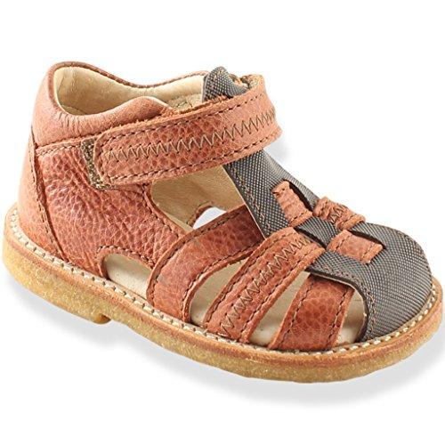 Rap Baby sandalias–marrón, gris