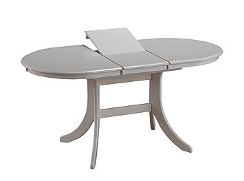 Table à manger extensible daures 94 (ovale), Couleur   Blanc – Dimensions   1aae2203a14f
