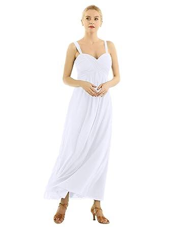 iixpin Vestido de Boda Dama de Honor Mujer Vestido Largo de ...