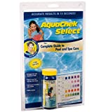 AquaChek 541604 Select 7-in-1 Pool or Spa Test Strips Complete Kit