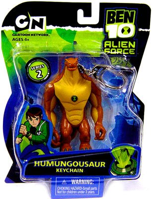Tennyson Alien Collection (Ben 10 Alien Force Series 2 Keychain Humungousaur)