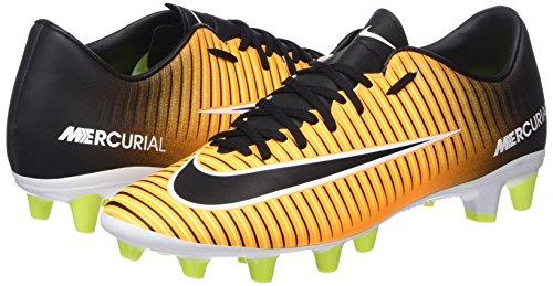 Black Orange Hombre Fútbol Volt Pro de Zapatillas AG Vi NIKE White Laser para Mercurial Victory Naranja Hwzq7O7