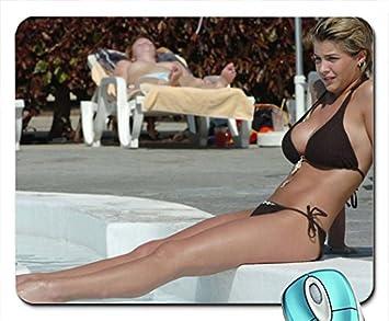 Legs Women Bikini Gemma Atkinson Feet Wet Huge Candid Mouse