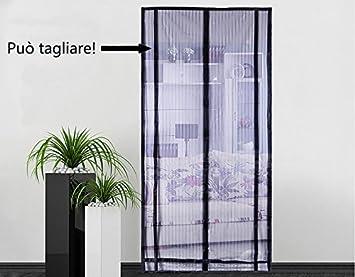 Magnet Fliegengitter für Türen Insektenschutz Türvorhang Moskitonetz in 2 Stil