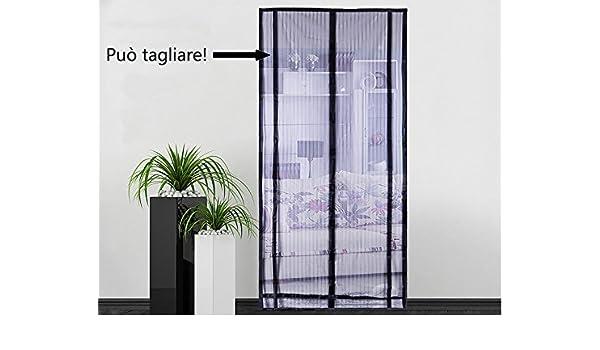 Domi Mosquitera se puede cortar, mosquitera magnético cortina mosquitera con imanes para puertas ventanas de entrada/Patio: Amazon.es: Bricolaje y herramientas
