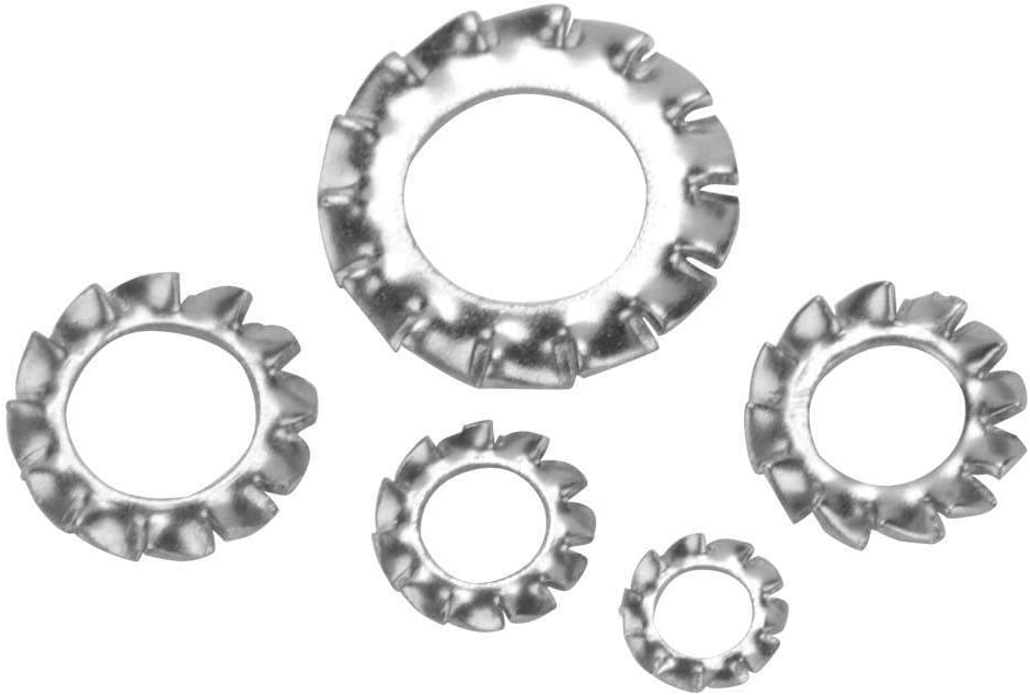 Beennex 700pcs M3-M8 Combination Box Stainless Steel 304 External Toothed Washer Kit