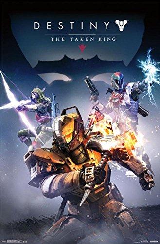 "Trends International Destiny Taken King Cover Wall Poster 22.375"" x 34"""