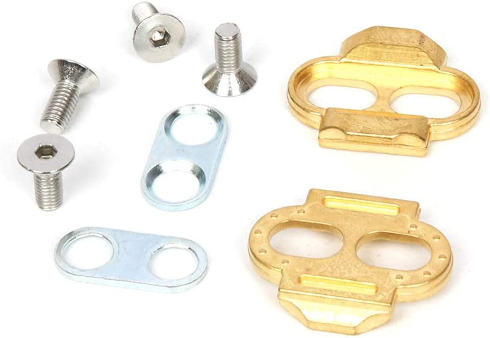 Brass Bicycle MTB Premium Pedal Cleats for Crank Brothers Egg Beater Accessory