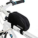 top peak bike stand - Meanhoo Bicycle Handlebar Rear Seat Trunk Pannier Bicycle Pack Accessories Outdoor Activity (Black)