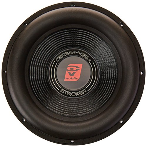 CERWIN VEGA ST124D Stroker 2000 Watts 4 Ohms/1000Watts RMS Power Handling Max 12-Inch Dual Voice Coil Subwoofer