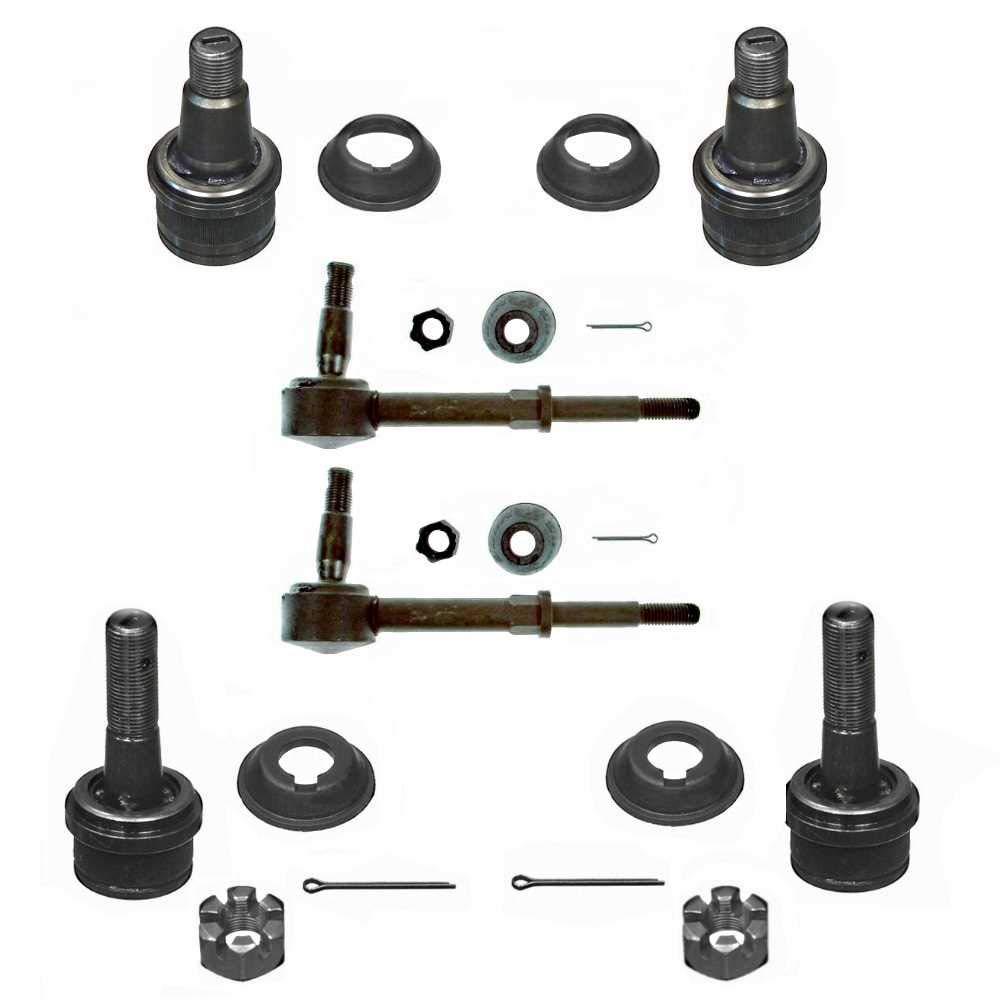 Prime Choice Auto Parts SUSPKG10065 4 Ball Joints /& 2 Sway Bars