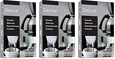 Urnex Dezcal Coffee and Espresso Activated Descaler and Cleaner