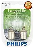 Philips 1073 LongerLife Miniature Bulb, 2 Pack