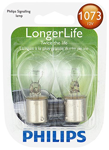 (Philips 1073 LongerLife Miniature Bulb, 2 Pack)