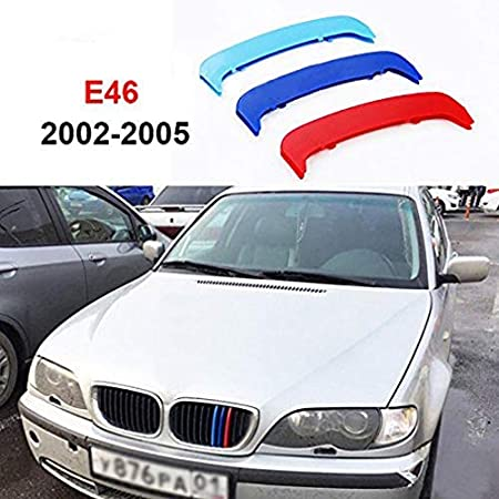 -Kidney Grills Insert accessories-M-Color Front Grille Stripe Decals 11 Grilles For 1 Series F20 F21 116i 118i 120i 2012-2014