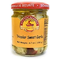 Spicy Cocktail Garlic infused with Calabrian Peppers 6.7 OZ (190 g) by TuttoCalabria …