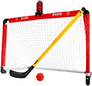 "Franklin Sports NHL League Logo Light It-Up Hockey Set , Red, 36"" L x 36"""