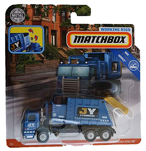- Matchbox Working Rigs Service Series [Blue] Garbage King HD