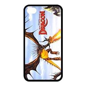 Customize How To Train Your Dragon Back Case for iphone 4,4S JN4S-1087