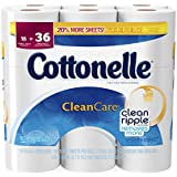 Cottonelle Clean Care Toilet Paper, Double Roll, 18 Count: Amazon ...