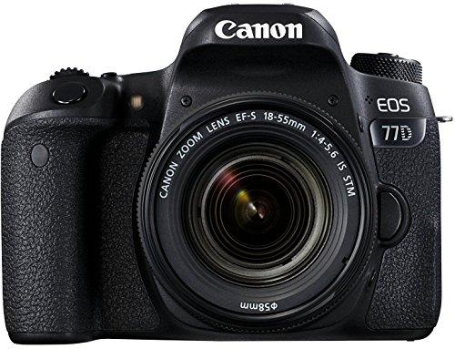 Canon EOS 77D 24.2MP Digital SLR Camera + EF-S 18-55 mm 4-5.6 is STM Lens + Arctic Fox Sling Shutter Topography Camera… 2