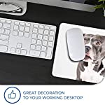 Comfortable Mouse Mat - American Pit Bull Staffy Terrier Dog 23.5 x 19.6 cm (9.3 x 7.7 inches) for Computer & Laptop, Office, Gift, Non-Slip Base - RM12382 12