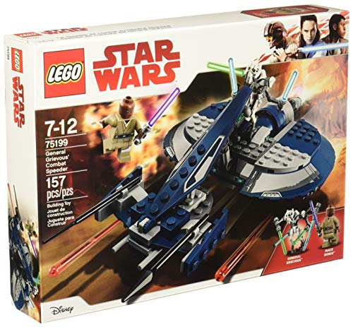 LEGO Star Wars: The Clone Wars General Grievous' Combat Speeder 75199 Building Kit (157 Piece)]()