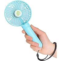 Momoday Small Handheld Fan (Blue)