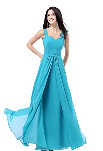 Charmangel Women's Formal Bridesmaid Dress Gown