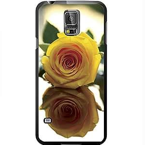 Pretty Yellow Rose Hard Snap on Phone Case (Galaxy s5 V)